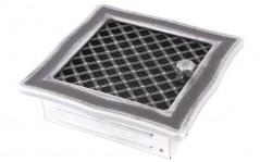 Решітка DECO срібна патина 16х16 см жалюзі